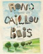 Couverture du livre « Rond comme un caillou en bois » de Fabienne Cinquin et Patrick Cloux aux éditions Atelier Du Poisson Soluble