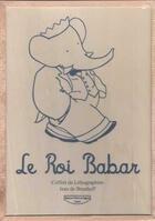 Couverture du livre « Le voyage de Babar ; coffret » de Jean De Brunhoff aux éditions Michel De Seguins
