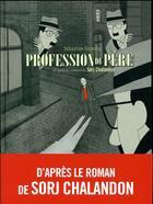 Couverture du livre « Profession du père » de Sebastien Gnaedig aux éditions Futuropolis