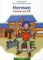 Couverture du livre « Herman rentre au CP » de Laetitia Caquiere aux éditions Alban
