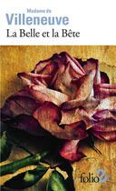 Couverture du livre « La belle et la bête » de Madame De Villeneuve aux éditions Gallimard