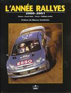 Couverture du livre « Annee Rallyes 2000-2001 » de Huit P aux éditions Chronosports