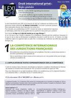 Couverture du livre « Droit international privé ; règles générales (2e édition) » de Stephane-Laurent Texier aux éditions Enrick B.