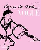 Couverture du livre « Dessins de mode Vogue » de William Packer aux éditions Thames And Hudson