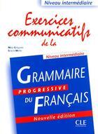 Couverture du livre « Exercices communicatifs 2004 » de Maia Gregoire aux éditions Cle International