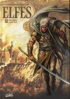 Couverture du livre « Elfes T.3 ; elfe blanc, coeur noir » de Stephane Bileau et Luca Merli et Olivier Peru aux éditions Soleil