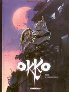 Couverture du livre « Okko T.2 ; le cycle de l'eau t.2 » de Hub aux éditions Delcourt