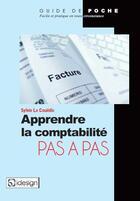Couverture du livre « Comptabilité générale pas à pas » de Sylvie Le Couedic aux éditions Qi Editions