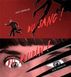 Couverture du livre « Du sang / du boudin » de Julie Chapallaz aux éditions Editions Flblb