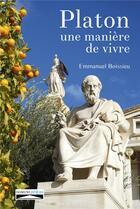 Couverture du livre « Platon, une manière de vivre » de Emmanuel Boissieu aux éditions Domuni