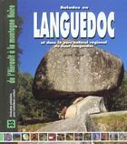 Couverture du livre « Balades languedoc » de Sylvie Lefranc aux éditions Creations Du Pelican