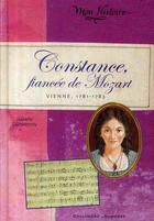 Couverture du livre « Constance ; fiancée de Mozart (Vienne, 1781-1786) » de Isabelle Duquesnoy aux éditions Gallimard-jeunesse