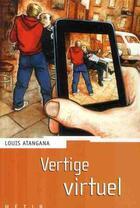Couverture du livre « Vertige virtuel » de Atangana-L aux éditions Rageot