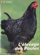 Couverture du livre « Elevage des poules » de Robin aux éditions Bornemann