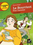 Couverture du livre « Le bourricot ; pour l'annonce » de Pierre Gripari aux éditions Hatier
