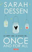 Couverture du livre « Once and for all » de Sarah Dessen aux éditions Lumen