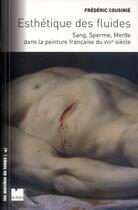 Couverture du livre « Esthétique des fluides ; sang, sperme et merde au XVII siècle » de Frederic Cousinie aux éditions Felin