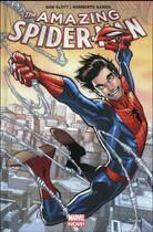 Couverture du livre « The amazing Spider-Man T.1 » de Dan Slott et Christos N. Gage et Giuseppe Camuncoli et Humberto Ramos aux éditions Panini