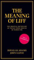 Couverture du livre « Meaning of Liff » de Douglas Adams aux éditions Pan Macmillan