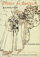 Couverture du livre « Dante et beckett » de Jean-Pierre Ferrini aux éditions Hermann