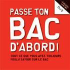 Couverture du livre « Passe ton bac d'abord ! » de Jean-Noel Leblanc aux éditions Horay