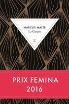 Couverture du livre « Le garçon » de Marcus Malte aux éditions Zulma