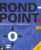 Couverture du livre « Rond point- niv. 1 - livre eleve + cd audio » de Labascoule aux éditions La Maison Des Langues