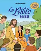 Couverture du livre « Découvrir la bible en BD » de Toni Matas aux éditions Emmanuel