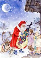 Couverture du livre « Calendrier de l'avent Noël pour tous » de Catherine Adam et Lucia Campinoti aux éditions Mineditions