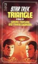 Couverture du livre « Triangle » de Sondra Marshak aux éditions Pocket Books Star Trek