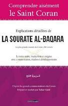 Couverture du livre « Explications détaillées de la sourate Al-Baqara » de Tahar Gaid aux éditions Iqra