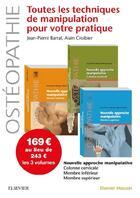 Couverture du livre « Nouvelle approche manipulative t.1 à t.3. » de Jean-Pierre Barral et Alain Croibier aux éditions Elsevier-masson