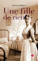 Couverture du livre « Une fille de rien » de Jules Leroux aux éditions Marivole