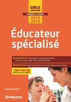 Couverture du livre « Éducateur spécialisé ; tout-en-un (concours 2018/2019) » de Rachel Flouzat aux éditions Studyrama