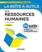 Couverture du livre « La boîte à outils ; des ressources humaines (3e édition) » de Annick Haegel aux éditions Dunod