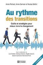 Couverture du livre « Au rythme des transitions » de Annie Richard et Annie Germain et Nicolas Beffort aux éditions Editions De L'homme
