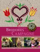 Couverture du livre « Broderies de nos campagnes » de Fabienne Bassang aux éditions Alfa Communications