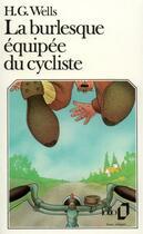 Couverture du livre « La burlesque équipée du cycliste » de Herbert George Wells aux éditions Gallimard