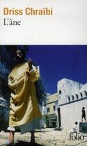 Couverture du livre « L'âne » de Driss Chraibi aux éditions Folio