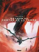 Couverture du livre « Retour au centre de la Terre t.2 ; les piliers de No'or » de Ludo Lullabi aux éditions Glenat