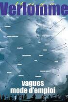 Couverture du livre « Vagues ; modes d'emploi » de Hugo Verlomme aux éditions Pimientos