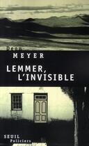 Couverture du livre « Lemmer, l'invisible » de Deon Meyer aux éditions Seuil