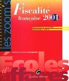 Couverture du livre « Fiscalite Pratique 2001 » de Grandguillot/Grandgu aux éditions Gualino