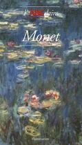 Couverture du livre « Monet » de Stephane Guegan aux éditions Flammarion