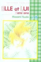 Couverture du livre « Elle et lui t.15 » de Masami Tsuda aux éditions Tonkam
