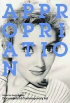 Couverture du livre « Appropriation » de David Evans aux éditions Whitechapel Gallery