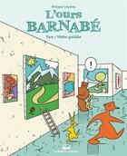 Couverture du livre « L'ours Barnabé T.20 ; visite guidée » de Philippe Coudray aux éditions La Boite A Bulles