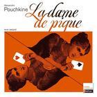 Couverture du livre « La dame de pique » de Alexandre Pouchkine aux éditions Nathan