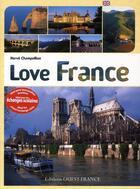 Couverture du livre « Love France » de Herve Champollion aux éditions Ouest France