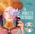 Couverture du livre « La princesse grenouille » de Elodie Fondacci aux éditions Gautier Languereau